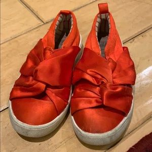 Girls Red Shoes Size 11.5